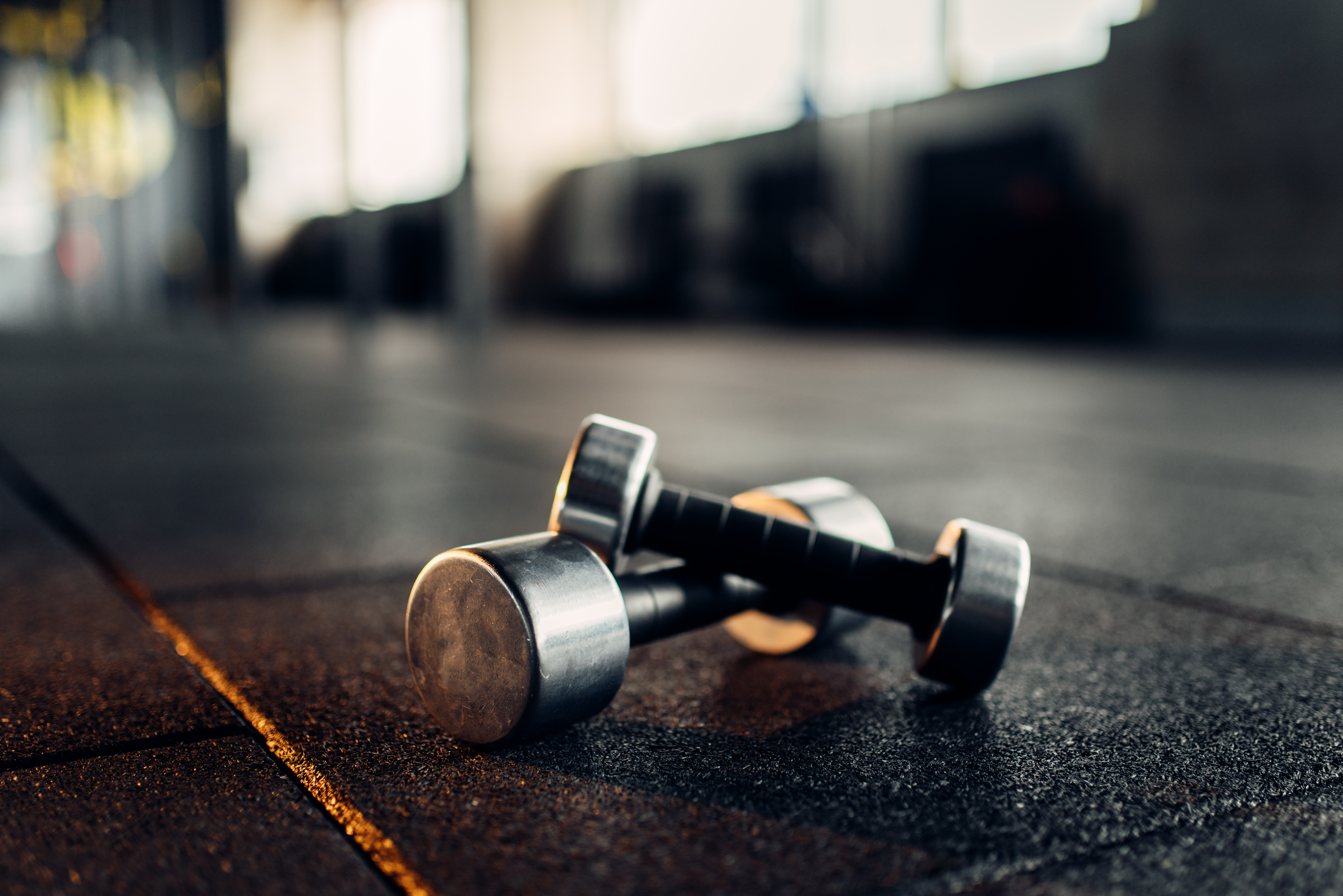 How should I train at the gym?